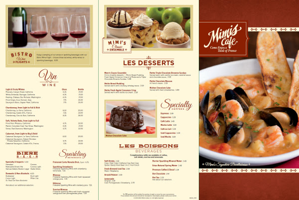 Discover the New Menu at Mimi s  Cafe Orlando