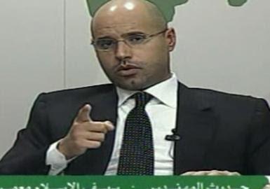 Filho de Kadhafi alerta para riscos de guerra civil na Líbia