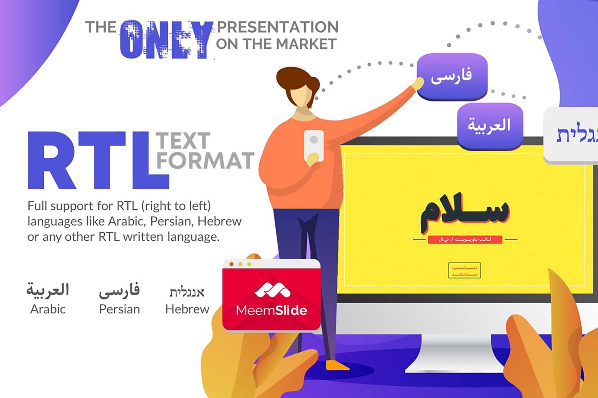 Salam Rtl Powerpoint Template Pptx