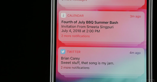iOS 12 will now let you group notifications, just like on Android