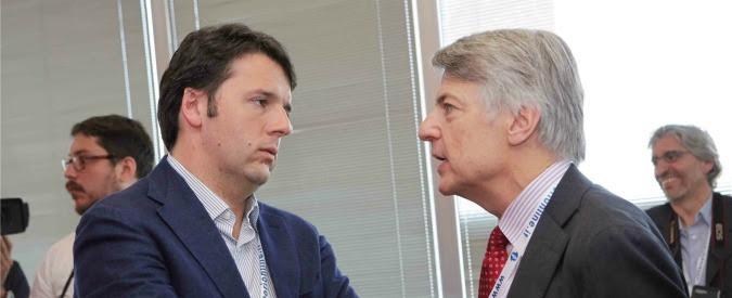 """Banca Etruria, scontro Renzi-de Bortoli: """"Ossessionato da me"""". M5s: """"Delrio s'interessò al caso. Ora commissione inchiesta"""""""