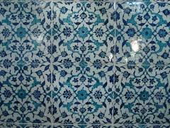 Antara Corak2 Yg Terdapat Pd Jubin2 Di Dlm Topkapi Palace, Istanbul, Turkey