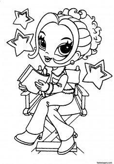 printable lisa frank coloring pages for girls  free