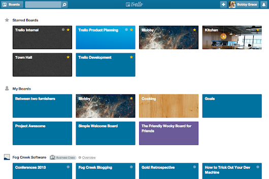 We Made Getting Around Trello Lots Faster With Starred Boards, A New Boards Page, and More | Trello Blog