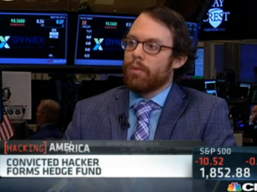 Infamous Hacker 'Weev' Went On CNBC To Explain The Fascinating Hedge Fund He's About To Launch
