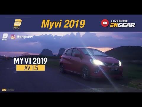 Video gempak Perodua Myvi