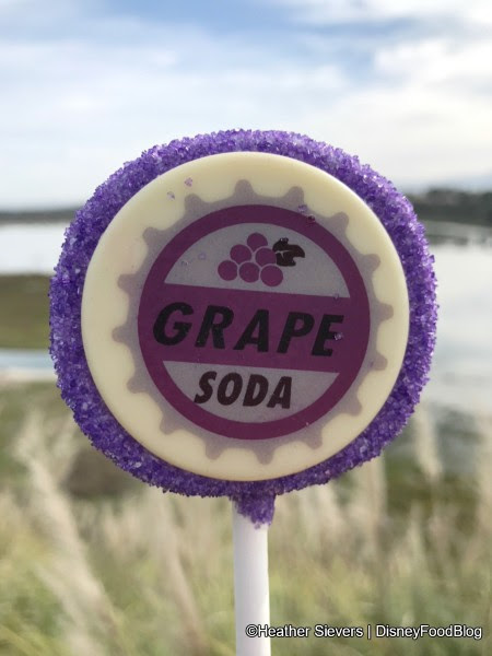 Grape Soda Cake Pop
