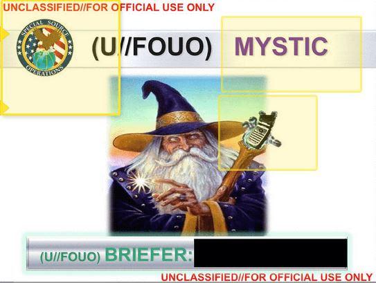NSA Mystic Retro intercept phone calls