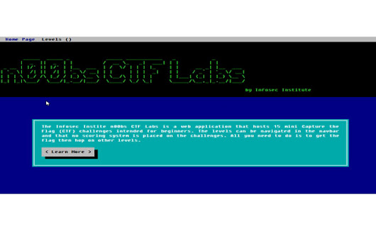 n00bs CTF Labs by Infosec Institute - InfoSec Institute