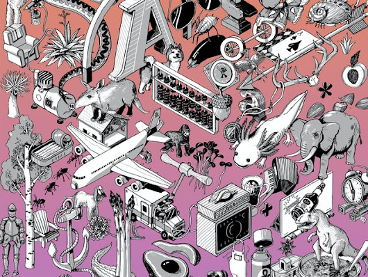 Alphabet Compendium; An Illustrated A-Z of Things by Nigel Sussman — Kickstarter