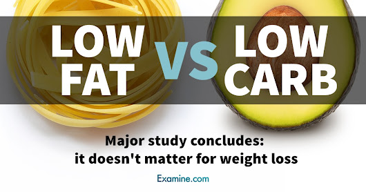 Low-fat vs low-carb? Major study concludes: it doesn't matter for weight loss