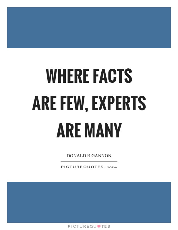 Image result for always trust experts