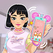 Tomoko's Kawaii Phone (with Walkthrough) | BIBIB Free Online Games