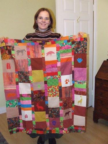Jane's African Quilt