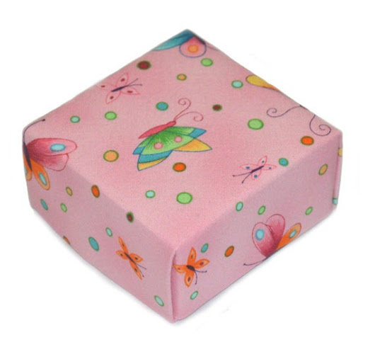 Pink Parfait Butterfly Treasure Box Perfect for by BucktownStudio