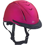 Ovation Metallic Schooler Helmet - FUCHSIA\XSM/SM