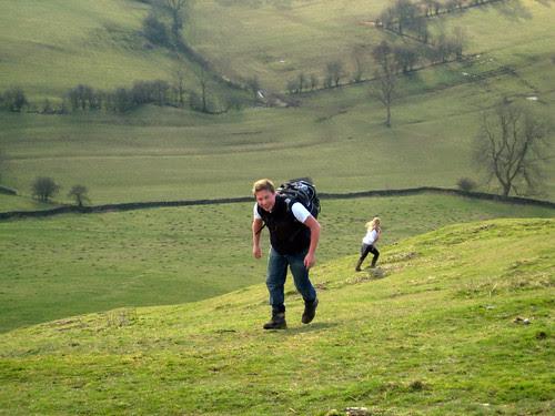 Edwin and Anna mountaineering