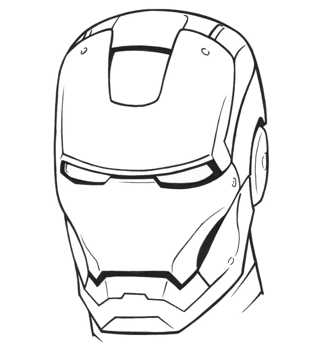 Iron Man Coloring Pages | Birthday Printable