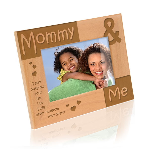 Mommy Me Wooden Picture Frame