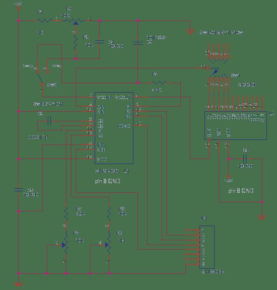 PLL using 4046