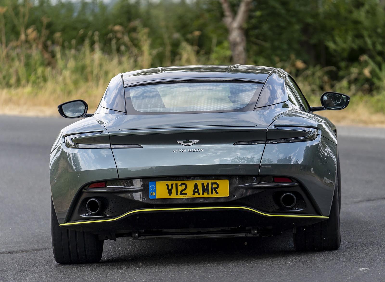 2019 Aston Martin Db11 Amr Uk Spec Rear Wallpapers 50 Newcarcars