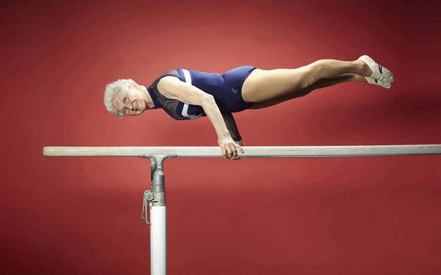 Oldest Gymnast Guinness 2013