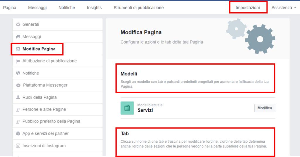 Pagina Facebook Personalizzala Con Il Giusto Modello E Le Tab