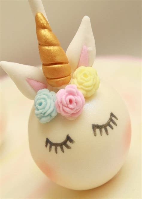 Inspire   Unicorn Cake Pops