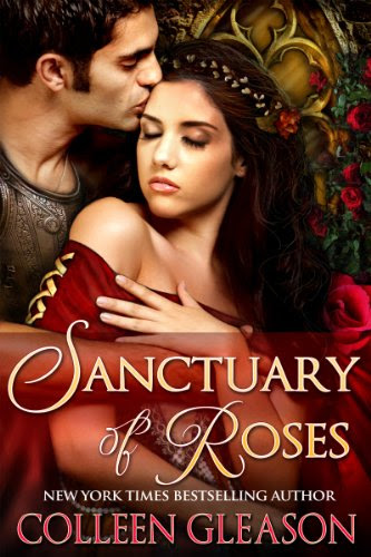 Sanctuary of Roses (Medieval Romance) (The Medieval Herb Garden Series) by Colleen Gleason