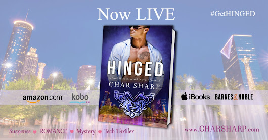 Release Day - 'Hinged' by Char Sharp #Giveaway