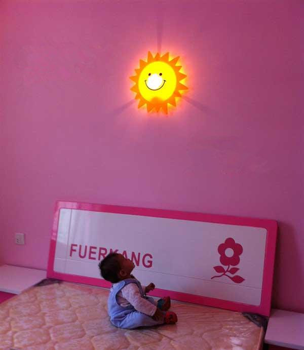 Cheap Wall Lamps - Best Room Lights Cute Wall Lamp Cartoon Smiley ...