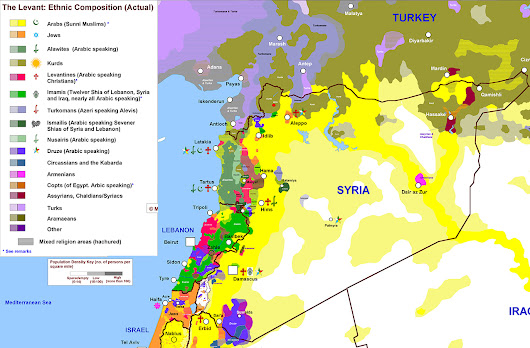 The one map that shows why Syria is so complicated