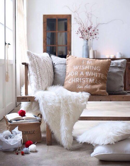 Winter room decor