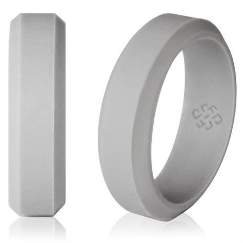 Silicone Wedding Ring By Knot Theory   Safe & Lightweight