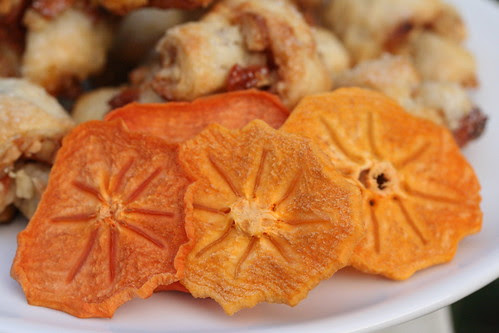 Rugelach with dried persimmon