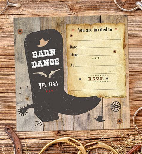 How to Organise a Barn Dance Birthday Party Dotty about