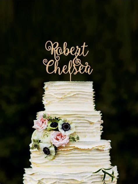 Custom Cake Topper, Wedding Cake Decorations, Personalized