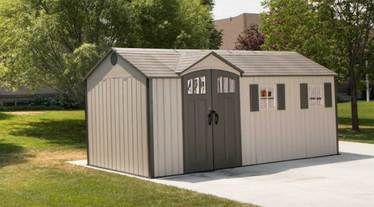 Lifetime's Extra Large Outdoor Storage Sheds