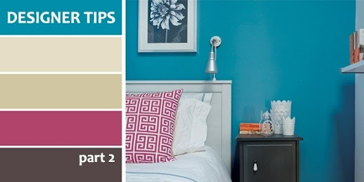 Designer Tips for Perfect Painting & Decorating - Part 2
