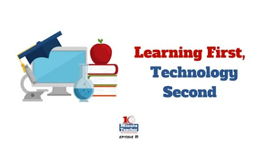 Learning First, Technology Second #motivationmonday