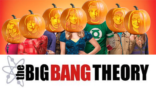 Big Bang Theory Pumpkin Carving Package - Ultimate Pumpkin Stencils