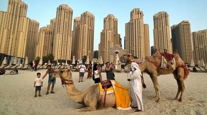 Турпоток из России в Дубай вырос на 15%