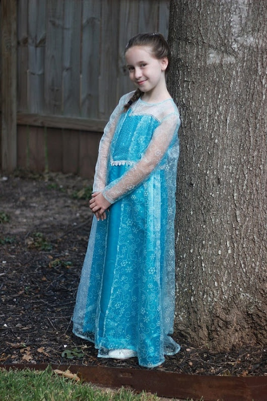 Snow Queen Dress Girls-Custom Order by FashionsFromThePast on Etsy