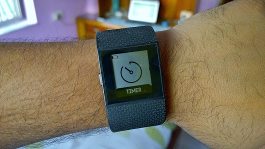 Fitbit Surge Update brings 10 Hrs GPS Battery Life, Run Cues & StopWatch + Timer