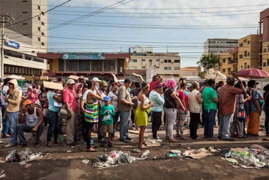Venezuela's Food Shortages Trigger Long Lines, Hunger and Looting - WSJ