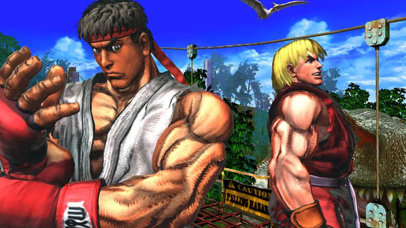 حصريا لعبة street Fighter X Tekken برابط مباشر