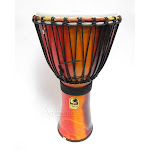 "Toca 10"" Freestyle Djembe Drum - Rope Tuned"