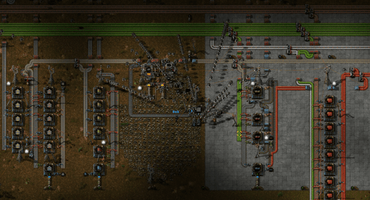 Factorio: co-op automation