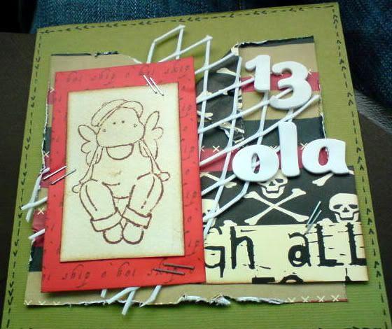 Mobilbilde av kortet til Ola 13 år