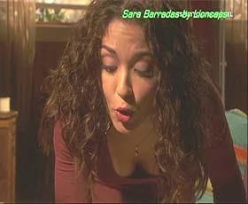 Sara Barradas sensual na novela Espirito Indomável